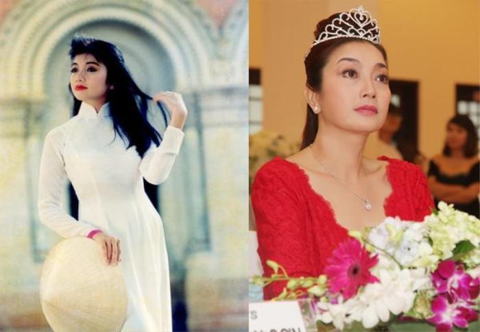 Hoa hậu Lý Thu Thảo tại lúc đăng quang và hiện nay