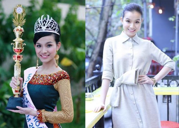 Hoa hậu Thuỳ Lâm nhường ngôi khi đã có chồng và con
