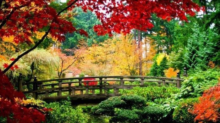 Ở châu Á, mùa thu rõ rệt nhất ở Nhật Bản, Hàn Quốc và Trung Quốc. Ở quốc gia Vạn Lý trường thành, tháng cao điểm nhất là dịp tháng 10, khi những đoàn khách ùn ùn kéo về khu du lịch Cửu Trại Câu, gần Thành Đô, Tứ Xuyên, nơi được mệnh danh là thiên đường dưới hạ giới.