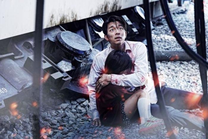 TRAIN TO BUSAN, (aka BUSANHAENG), GONG Yoo, holding KIM Soo-Ahn, 2016. © Well Go USA Entertainment