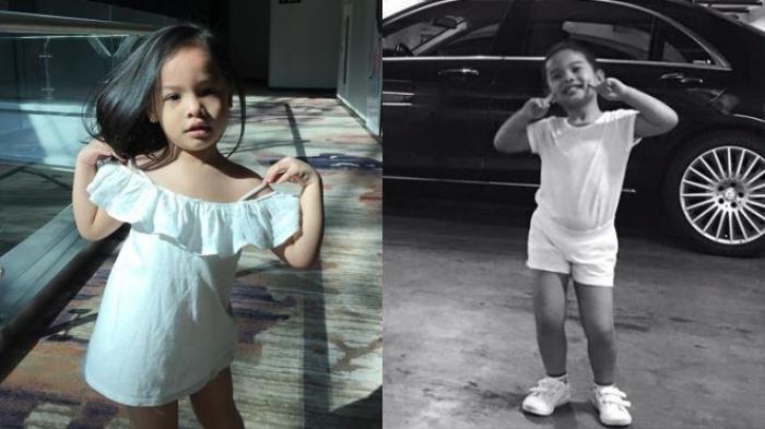 Sinh năm 2012, đến nay Tuệ Lâm đã được 4 tuổi. Cô bé bộc lộ năng khiếu nghệ thuật thừa hưởng từ bố mẹ khá sớm.