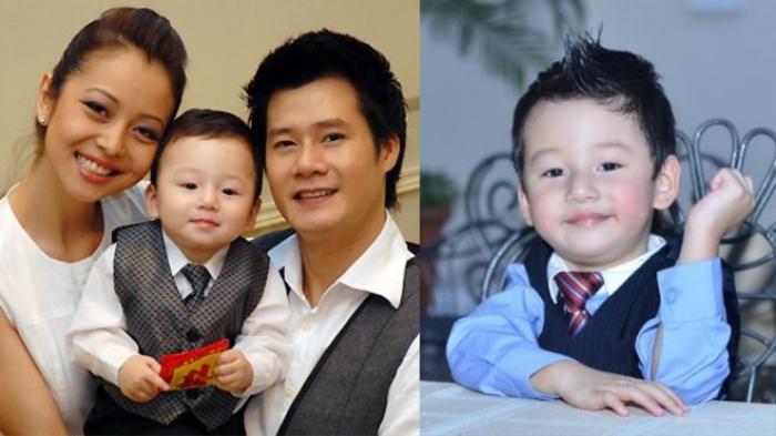 Bé Bảo Nam con trai Jennifer Phạm và Quang Dũng từ là một trong những nhóc tì được yêu thích nhất nhì Vbiz cách đây vài năm.
