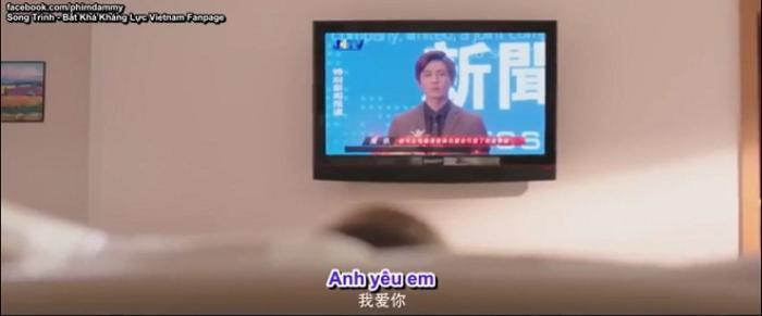 Hình ảnh được phát tán rộng trên truyền hình.