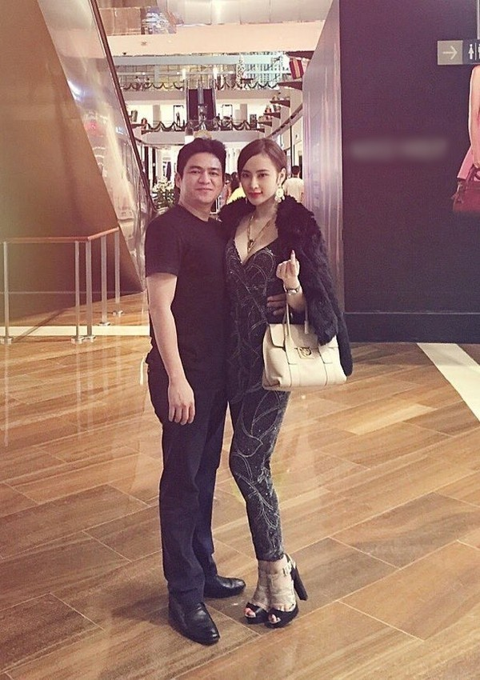 Chiêm Quốc Thái và Angela Phương Trinh từng gây sóng gió với chuyện tình lệch tuổi.