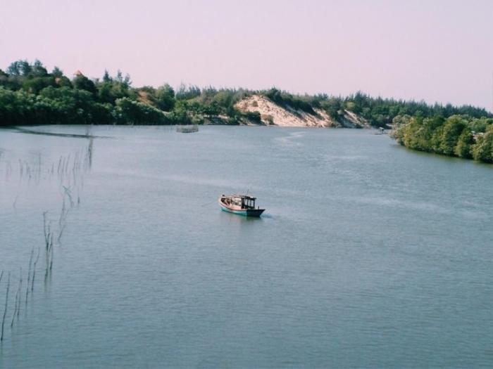 Những khung cảnh ấn tượng của thiên nhiên ban tặng ở Bình Châu.