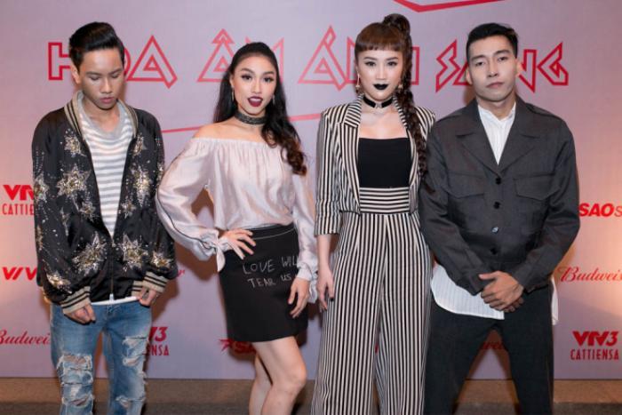 Dàn sao 'khủng' hào hứng ra mắt The Remix New Generation 2017