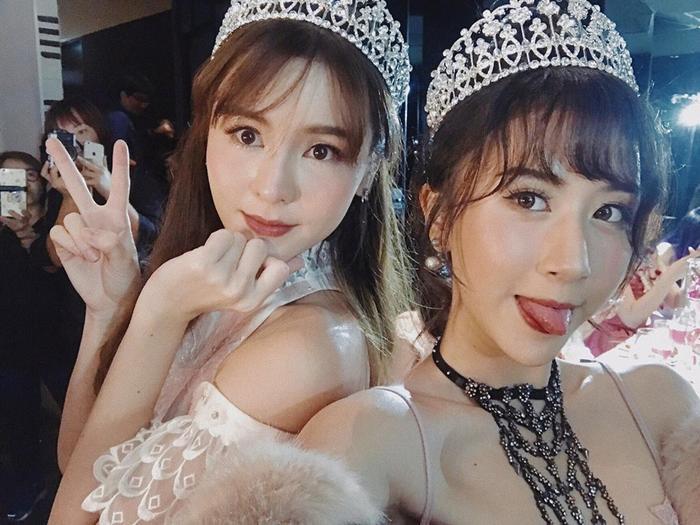 Quỳnh Anh Shyn và Aom, nữ diễn viên được mệnh danh là Song Hye Kyo Thái Lan.