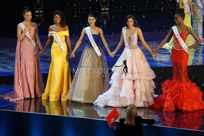 Top 5 của Hoa hậu thế giới 2016.