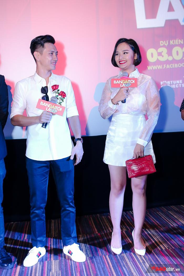 """Miu Lê và Đỗ An trở thành """"người tình màn ảnh"""" trong Bạn gái tôi là sếp."""