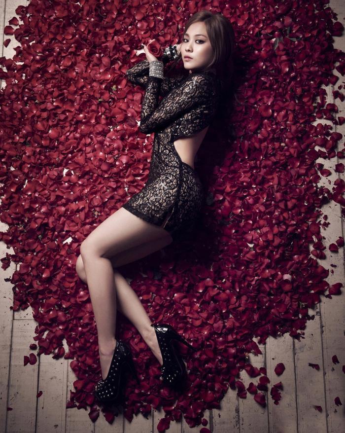 Cựu thành viên Miss A Fei.