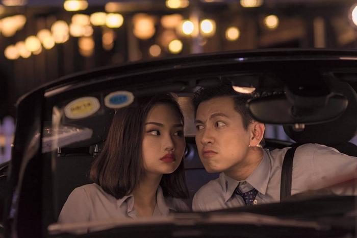 Anh diễn xuất rất ăn ý với Miu Lê.