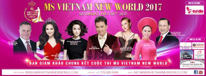 Điều gì khiến cuộc thi Ms Vietnam New World 2017 của Hoa hậu Mỹ Vân đe doạ các cuộc thi nhan sắc khác? ảnh 0