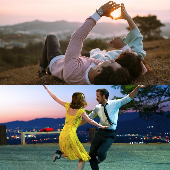 Đặc biệt cô cho biết có một cảnh quay mình lấy cảm hứng từ bộ phim La La Land, đó chính là cảnh ngồi trên đồi cao ngắm mặt trời lặn.