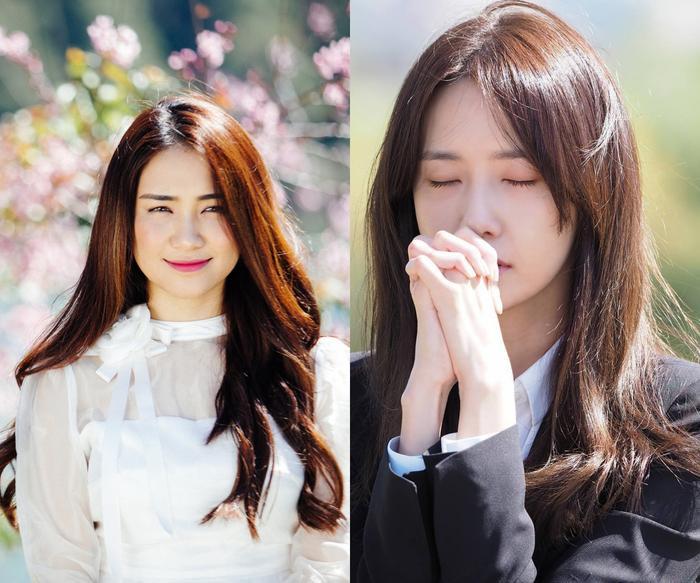 """Nhiều fan còn ví von Hòa Minzy dịu dàng này rất giống với hình tượng """"ngọc nữ"""" YoonA (SNSD) và Eunji (Apink) đình đám của Kpop."""