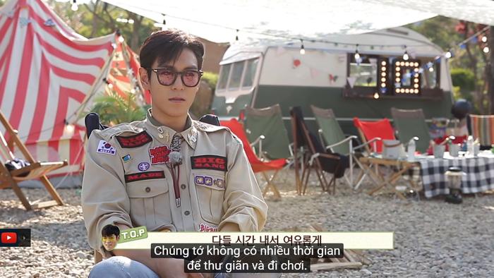 Không gian cắm trại tuyệt đẹp của BIGBANG.