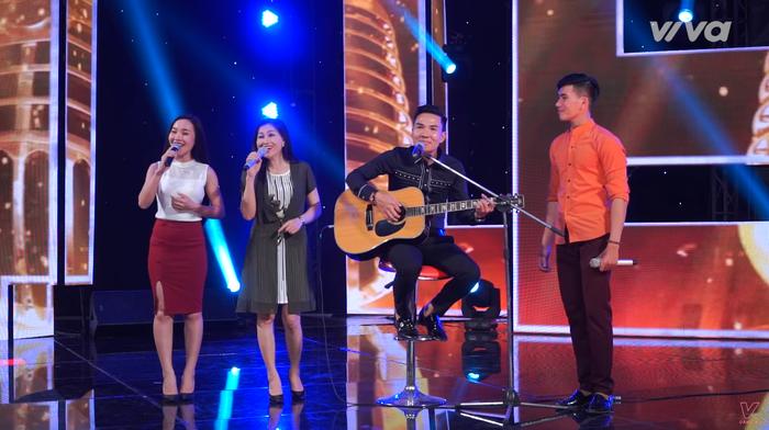 """Cả 4 gương mặt Thu Thảo, Hạ Vân, Dũng Sến và Ngọc Sơn """"trả bài"""" cực ngọt cùng ca khúc đã gắn liền với tên tuổi Quang Lê."""