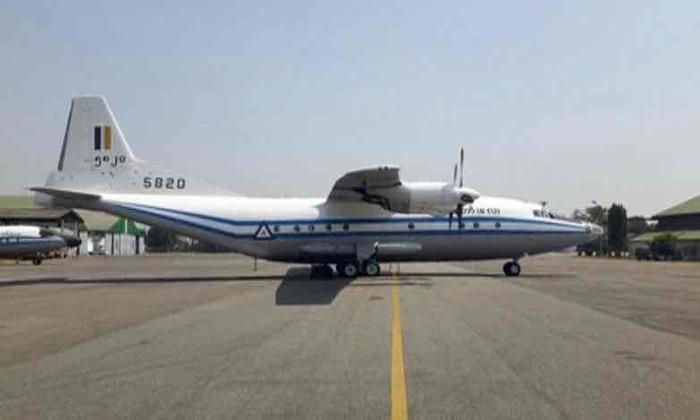 Chiếc máy bay Y-8-200F.