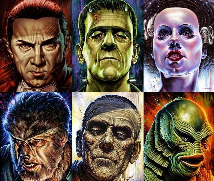Đội hình dự kiến của Dark Universe: Dracula, Frankenstein, Người Sói, xác ướp và Black Lagoon