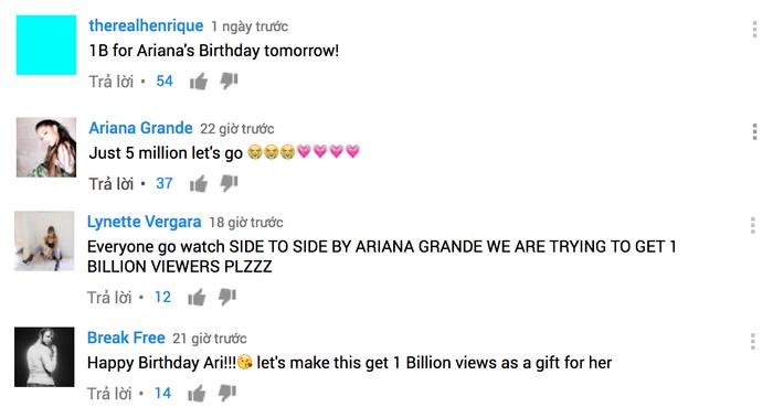Các fan rất quyết tâm mang về 1 tỷ view vào đúng dịp sinh nhật.