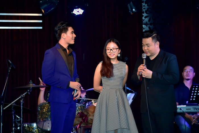 Quang Lê dẫn Phương Mỹ Chi tham gia minishow của học trò Thần Tượng Bolero  Ngọc Sơn ảnh 6