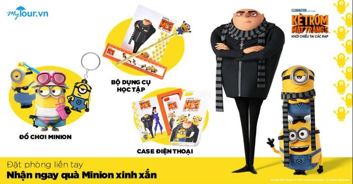 Đây chính là phần quà Minions dành tặng cho người chơi của Mytour.vn - Ảnh: Mytour.vn.