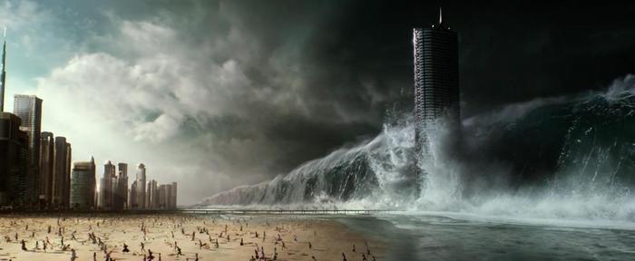 Loài người phải đối mặt với sự diệt vong từ sóng thần…