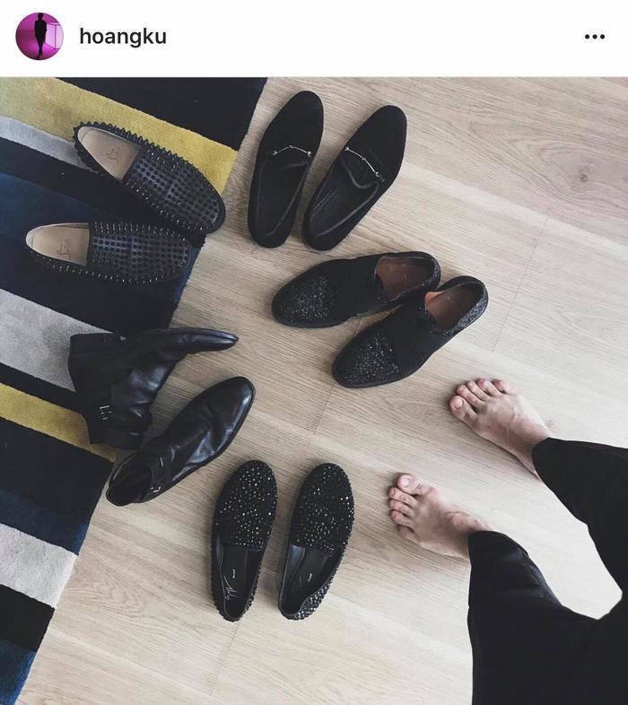 Nhìn đống giày tưởng đơn giản mà tốn bộn tiền đến không ngờ!