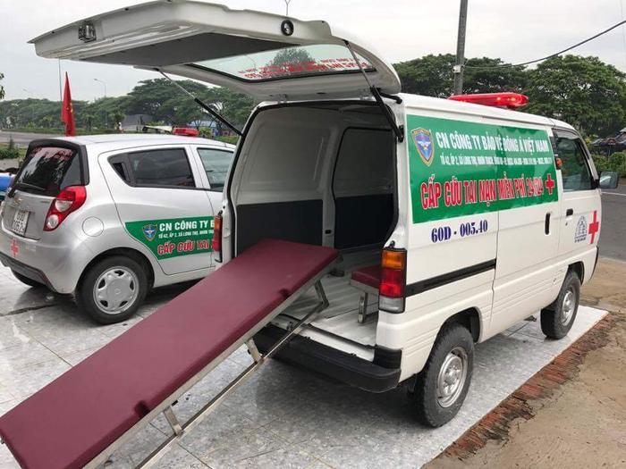 Những xe cấp cứu tiền tỷ ngày đêm túc trực giúp người gặp nạn với giá 0 đồng ở Đồng Nai