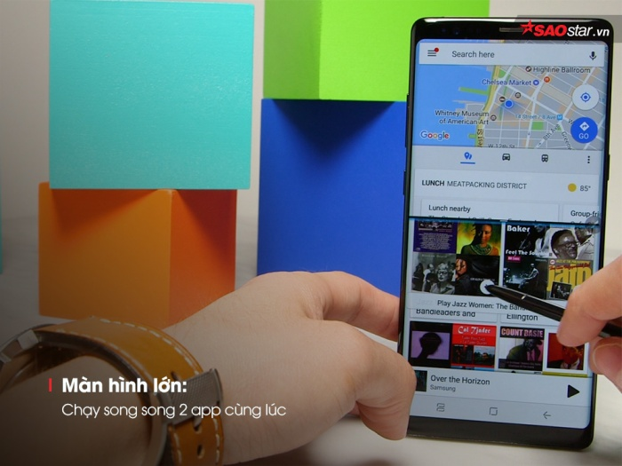 """9 điều Galaxy Note 8 """"ăn đứt"""" các đời iPhone"""