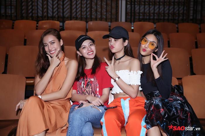 Không ngơi nghĩ sau chiến thắng, team Lan Khuê tiếp tục khẳng định hình ảnh người mẫu chuyên nghiệp ngay sau đêm Chung kết.