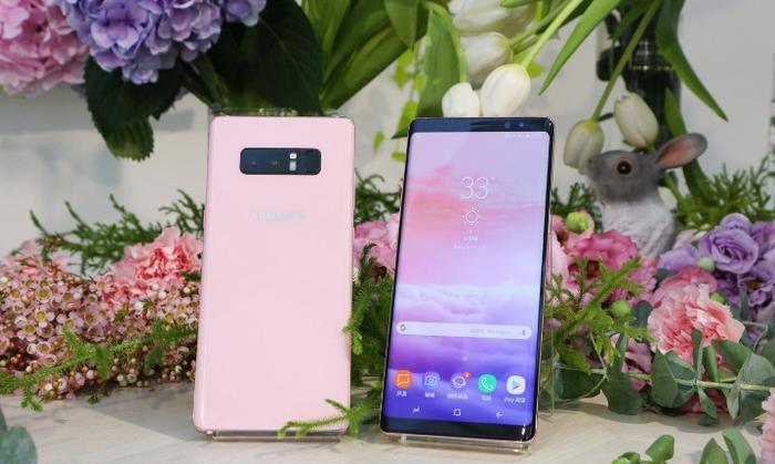 Galaxy Note 8 ra mắt thêm màu Hồng mới Star Pink đầy độc đáo