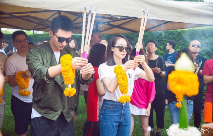 Hoàng Cảnh Du và Tống Thiến sang Thái Lan để quay phim mới.