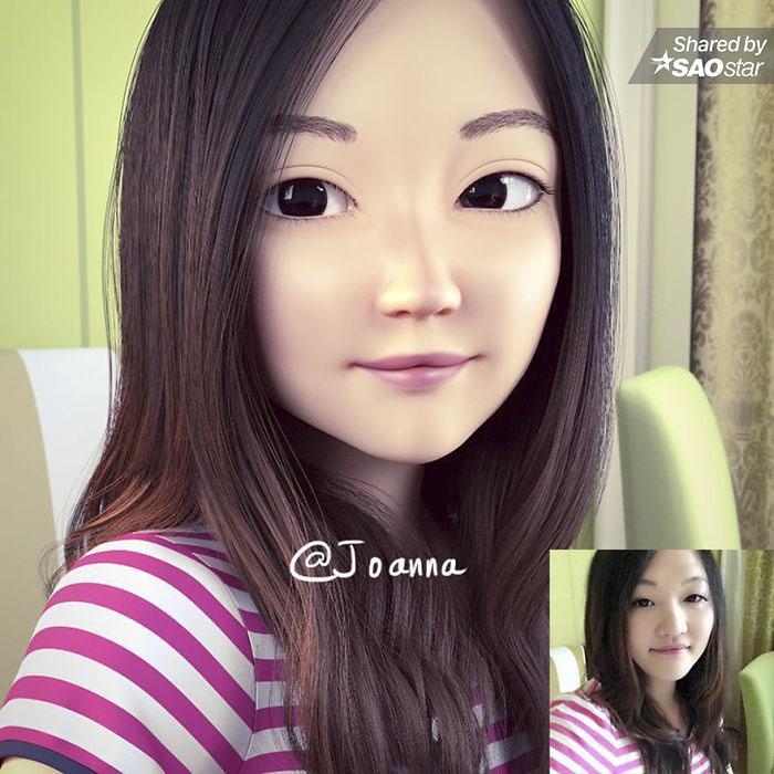 Chuyện gì sẽ xảy ra nếu bạn bỗng chốc biến thành nhân vật hoạt hình 3D? ảnh 4