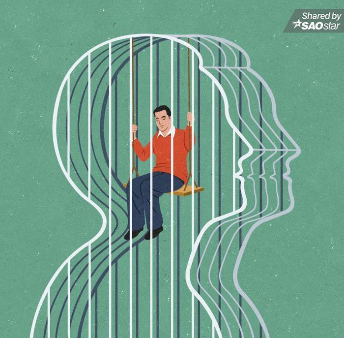 Con người mắc kẹt trong suy nghĩ của mình.