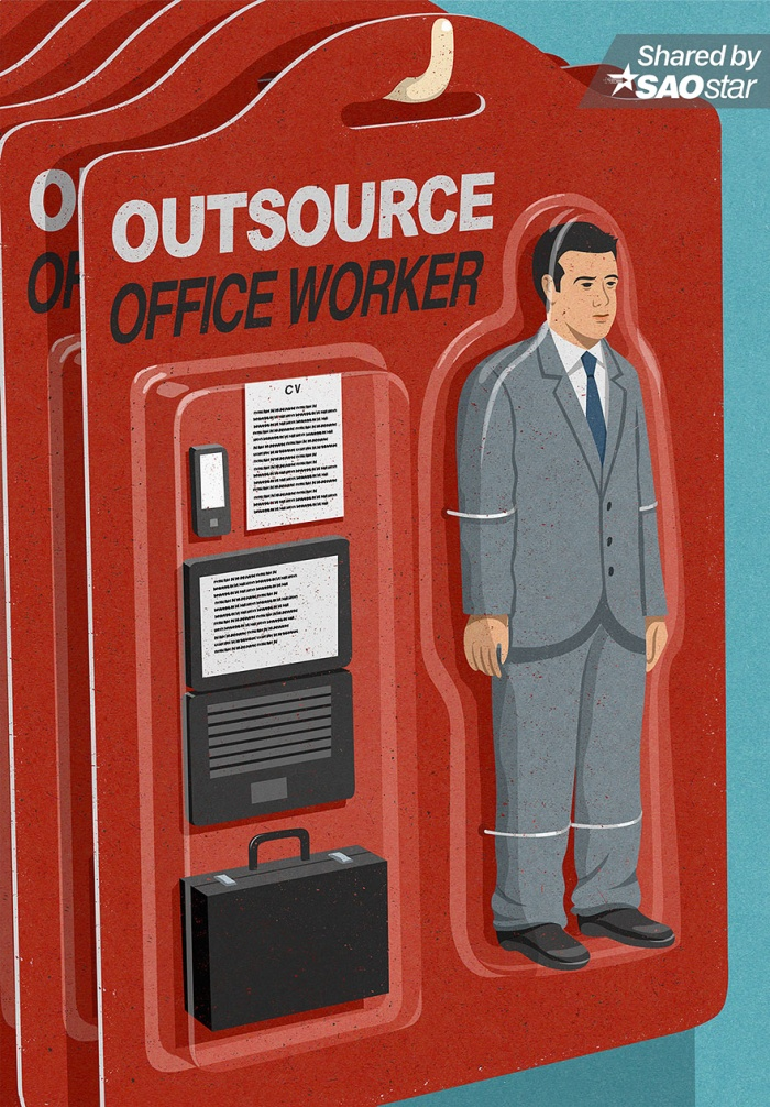 Thực trạng của các nhân viên văn phòng