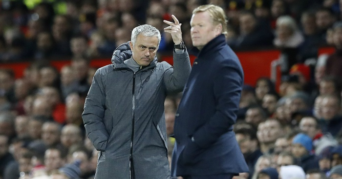 Mourinho vẫn khó chịu với Koeman vì những chuyện của quá khứ?
