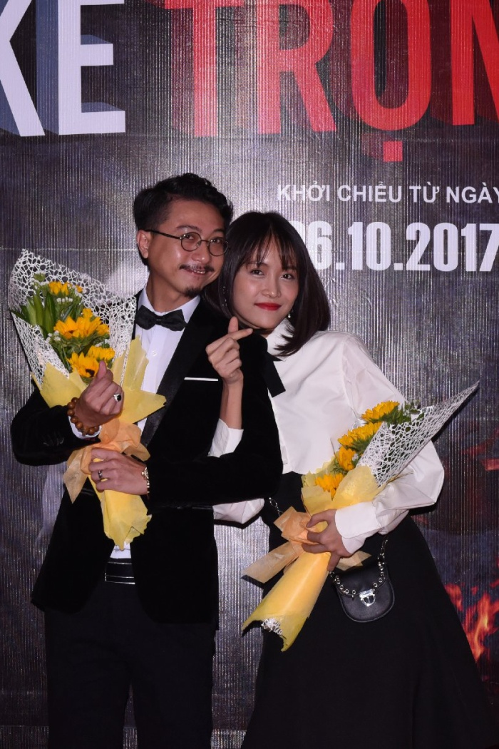 Trương Mỹ Nhân và Hứa Minh Đạt. Cả hai là cặp đôi trong phim.