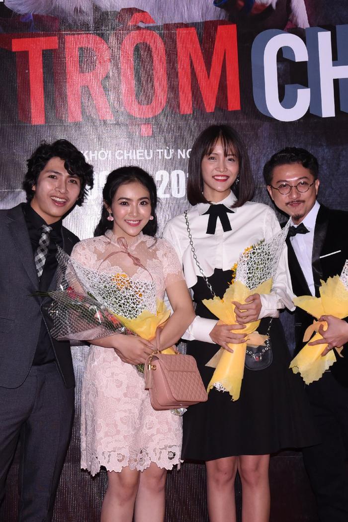 4 diễn viên của phim: Ngụy Minh Khang, Phương Khánh, Trương Mỹ Nhân và Hứa Minh Đạt.