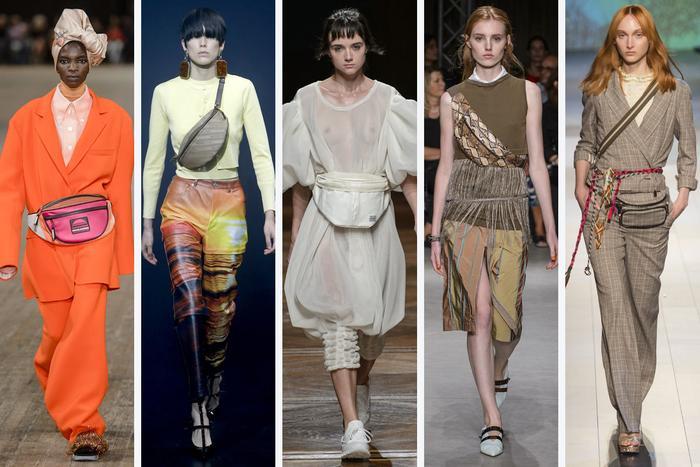 Kích cỡ, chất liệu và màu sắc đa dạng cũng là điểm thú vị của túi đeo hông. Nhờ đó, các fashionista có thêm nhiều sự lựa chọn hấp dẫn.