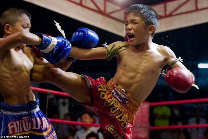Muay Thái đã trở thành phổ biến.