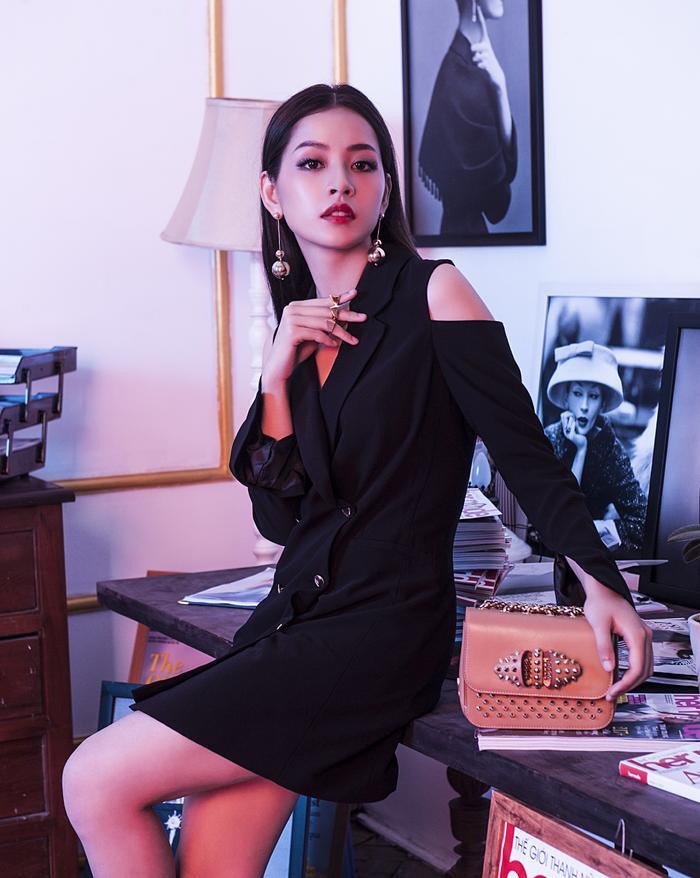 Tạo hình của Chi Pu trong phim Mối tình đầu của tôi.