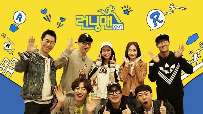 Running Man đang là chương trình được yêu thích nhất tại Hàn Quốc.
