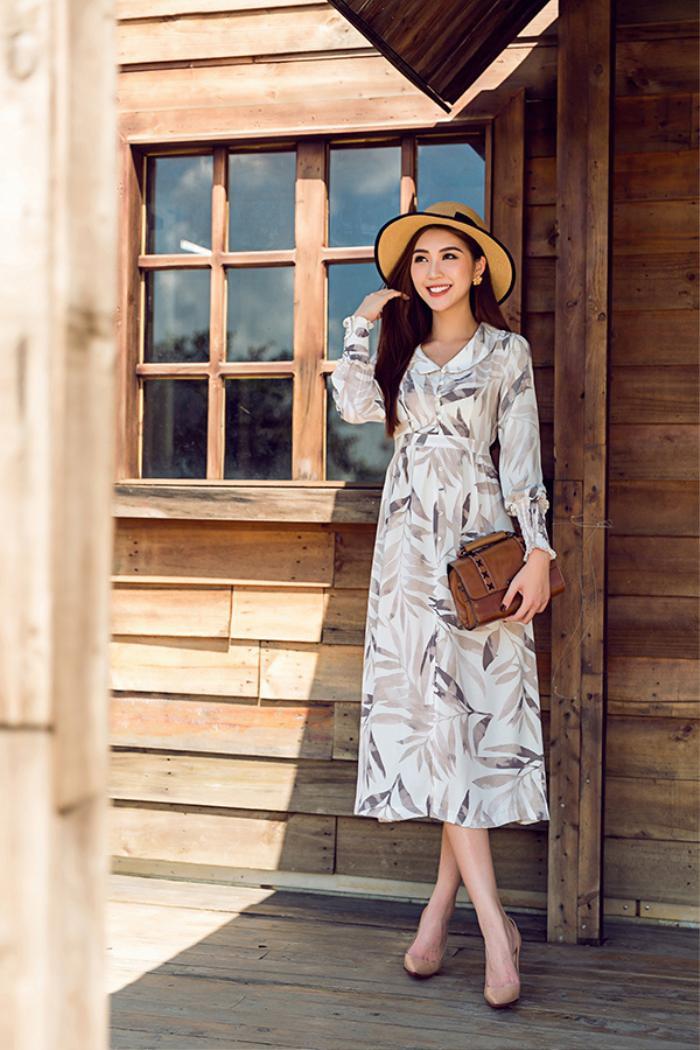 Tường Linh đầy cuốn hút trước ngày lên đường dự thi Miss Intercontinental 2017