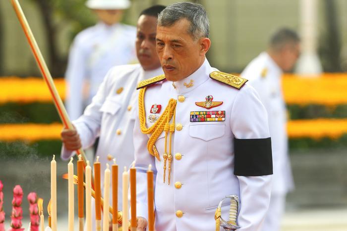 Vua Maha Vajiralongkorn, con trai duy nhất của cố quốc vương Bhumibol. Ảnh: Reuters.