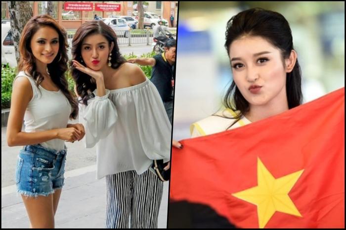 Tuy nhiên, cách pose của Huyền My khiến nhiều người nhận xét cô trông giống như đang đi thi Miss Teen hơn là Hoa hậu.