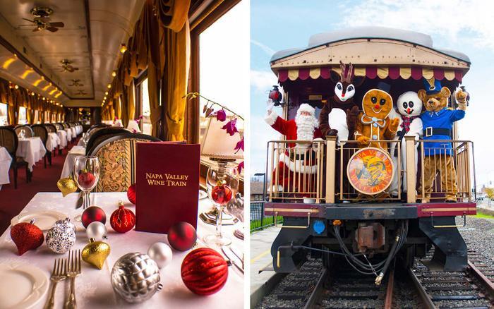 Nào cùng vác ba lô và leo lên chuyến tàu của ông già Noel để tìm không khí Giáng sinh ảnh 1