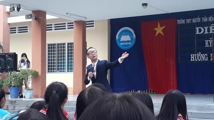 Diễn giả, chuyên gia tâm lý nổi tiếng Huỳnh Anh Bình.