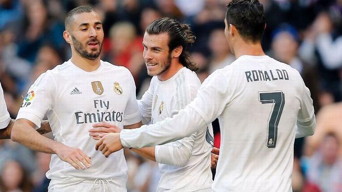 Bộ 3 BBC sa sút kéo theo thành tích của Real Madrid.