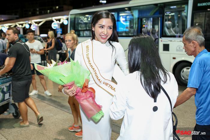 """Sau thời gian dài chuẩn bị và tập luyện, Khánh Phương đã tự tin và sẵn sàng """"chinh chiến"""" tạiHoa hậu Siêu quốc gia 2017."""