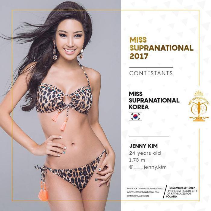 Đương kim Hoa hậu năm nay 24 tuổi, cao 1,73 m và đang là người mẫu ở Hàn Quốc.